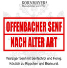 Offenbacher Senf – Nach alter Art